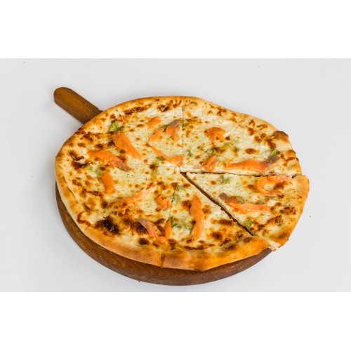 Pizza cu Somon Afumat 535gr